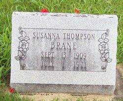 Susanna <i>Thompson</i> Brane