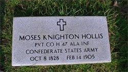 Pvt Moses K Hollis