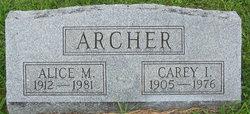 Alice M. Archer