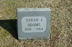 Sarah J. Adams