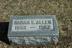 Sarah Elizabet <i>Gleason</i> Allen