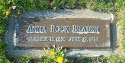 Anna M. <i>Rock</i> Braden
