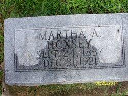 Mrs Martha Ann <i>Bentley</i> Hoxsey