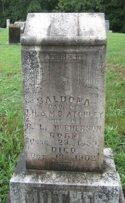 Caldona <i>Atchley</i> McPherson