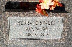 Nedra <i>East</i> Crowder