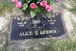 Alice <i>Seddon</i> Brown