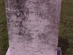 Martha Ann <i>McMillian</i> Gibbons