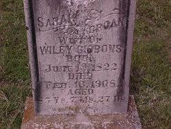 Sarah Sally <i>Morgan</i> Gibbons