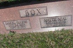 Mattie <i>Neal</i> Box
