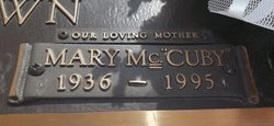 Mary Lewis <i>McGuire</i> Brown