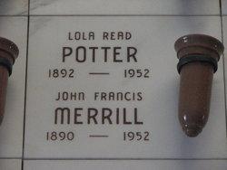 Lola <i>Read</i> Potter