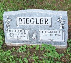 Rev Clare E Biegler