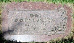 Dorothy Lavina Anderson