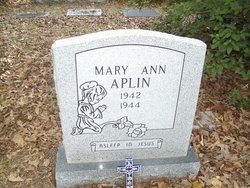 Mary Ann Aplin
