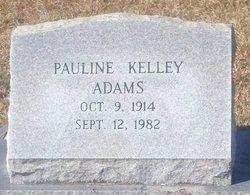 Pauline <i>Kelley</i> Adams