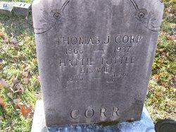 Thomas J Corr