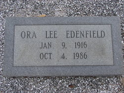 Ora Lee Edenfield