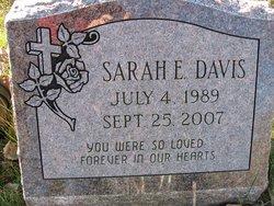 Sarah E Davis