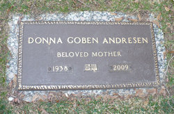 Donna <i>Goben</i> Andresen