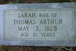 Sarah Arthur
