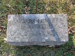 Barbara <i>Lowerre</i> Burroughs