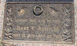 Jerry Y Allen, III