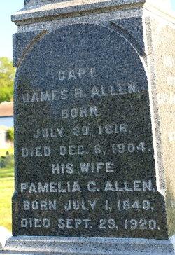 Pamelia C <i>Douglass</i> Allen