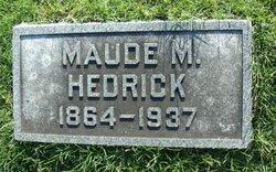 Maude M. Hedrick
