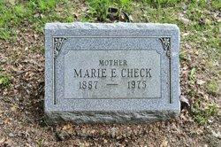 Marie <i>Eckman</i> Check