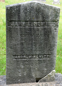 Jane Eliza <i>Hewitt</i> Avery