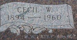 Rev Cecil Whitcomb Goff