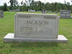 Hercilla Albertine <i>Hayre</i> Jackson