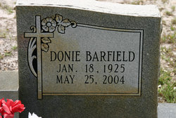 Donie <i>Barfield</i> Anderson