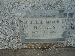 Jessie Mavor <i>Allen</i> Haynes