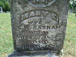 Mary E <i>Fowler</i> Basham