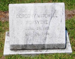 Dorothy <i>Mitchell</i> Forsythe