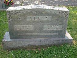 Minnie Elizabeth <i>Griffin</i> Albin