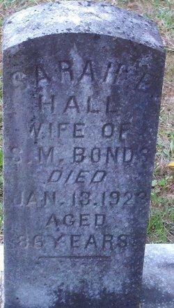 Sarah L <i>Hall</i> Bonds