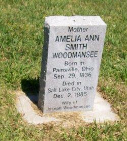 Amelia Ann <i>Smith</i> Woodmansee