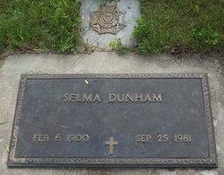Selma M <i>Ronningen</i> Dunham