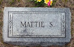 Samantha Mattie <i>Hayne</i> Outhouse