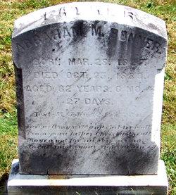 Abraham M. Benner