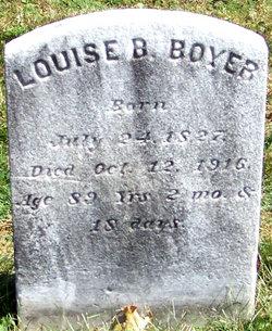 Mrs Louise B. <i>Smith</i> Boyer