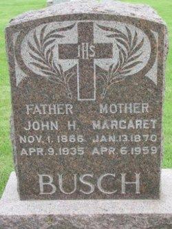 Margaret <i>Wiedman</i> Busch