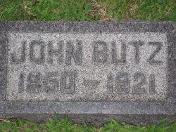 Johannes John Butz