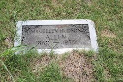 Ellen <i>Hudson</i> Allen