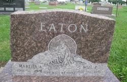 Martha Ann <i>Gregory</i> Eaton