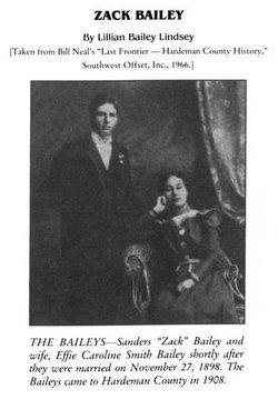 Sanders Zachariah S. Z. Bailey