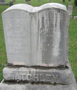 Esther E <i>Maples</i> Atchley