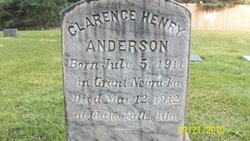Clarence Henry Anderson